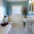 Redecorated Bathroom